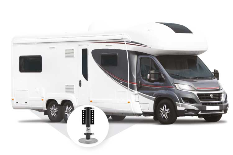 E & P hydraulics levelling campervan