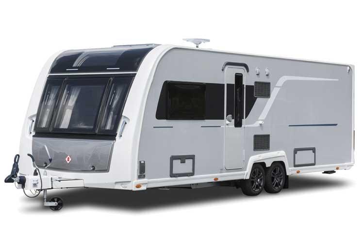 E & P hydraulics levelling caravans